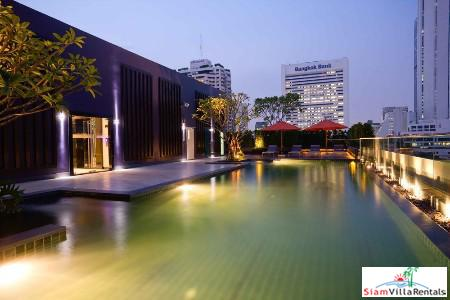 Contemporary One Bedroom Apartment for Rent in the Sathon Area of Bangkok