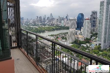 Panoramic Views from this Two Bedroom Near Sukhumvit 22, Bangkok