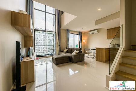 Large Deluxe Duplex Condominium for Rent in Asok, Bangkok
