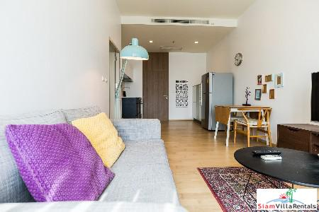 One Bedroom  For Rent Located in the Shopping District, Ekkamai, Bangkok
