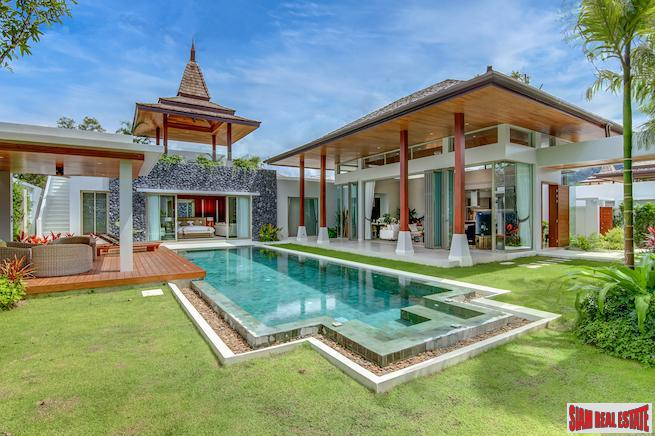 Walk to the Beach from this New Pool Villa Development in Bang Tao, Phuket