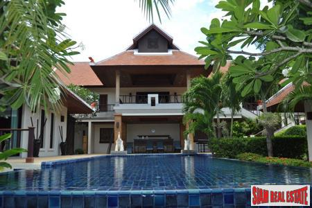 Thai Bali-style Four Bedroom Home in an Exclusive Area of Nai Harn, Phuket