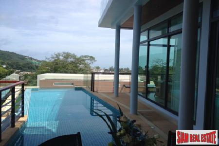 Unique Sea View Home for Sale with Private Pool and Roof Top Terrace, Kamala