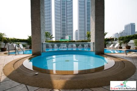 Luxury Living  in this Three Bedroom Extra Large Condo on Soi 22, Bangkok