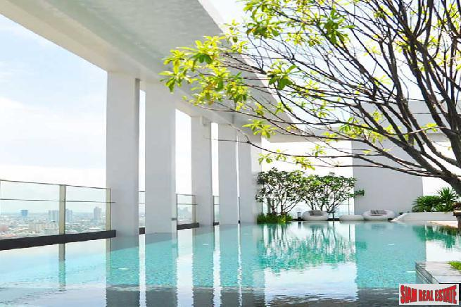 Two Bedroom Corner Unit with City Views in Sathorn, Bangkok