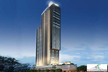 Latest in Design and Function in this Extra Large Three Bedroom Condo Phetchaburi, Bangkok