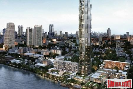 Four Seasons Private Residences Bangkok at Chao Phraya River.