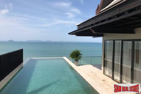 Ocean Front and Sea Views from this Thai Style Six Bedroom Home in Koh Sirey, Phuket