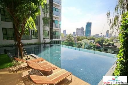City Views and Very Modern Two Bedroom For Rent in Phra Khanong, Bangkok