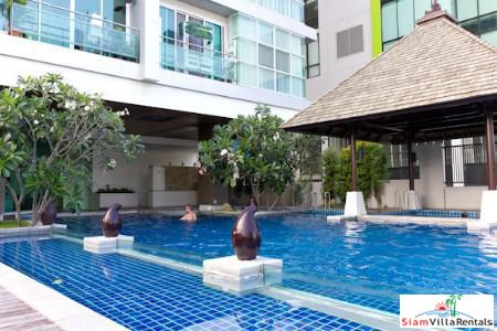 Contemporary Two Bedroom with Pool Views in Khlong Toei, Bangkok