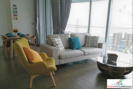 Magnolias Ratchadamri Boulevard  | Wide City Views From This Two Bedroom for Rent