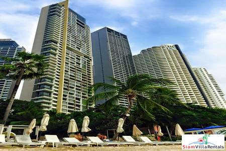 Absolute Beachfront 1 bedroom Condominium for Rent at Wongamat