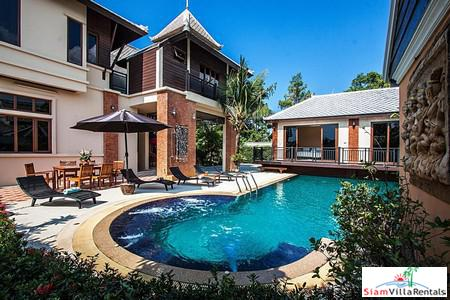 Luxurious 5 Bedrooms Pool Villa For Long Term Rent in Pattaya