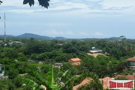 Unstoppable Sea Views from this Land Plot For Sale in Rawai