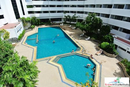 Fantastic Large 3 Bedrooms Apartment for Rent next to Jomtien Beach