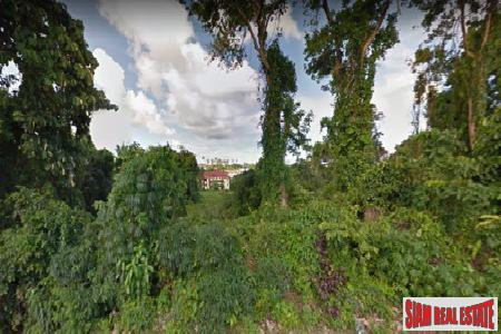 Large Land Plot for Sale Near Rawai Beach Front Drive, Phuket