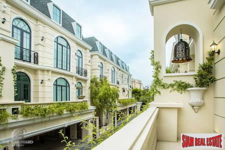 Unbelievable Luxurious Four Bedroom Homes in a New Gated Community, Ekkamai, Bangkok