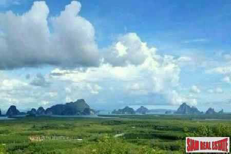Amazing Sea Views from this Large Land Plot in Phang Nga, Thailand