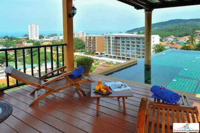 Fantastic Sea Views from this Three Bedroom Located in the Hills of Karon, Phuket