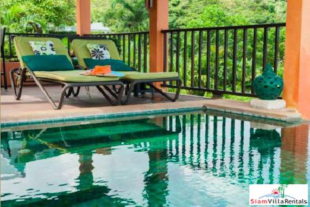 Holiday Living with Magnificent Sea Views from this Three Bedroom Located in the Hills of Karon, Phuket