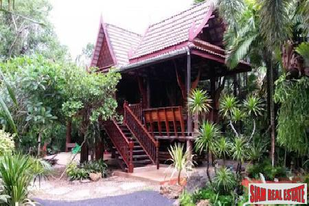 Private and Secluded Two Bedroom Thai-Style House in Phang Nga