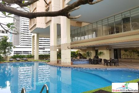 Convenient and Extra Large Three Bedroom in Asoke, Bangkok