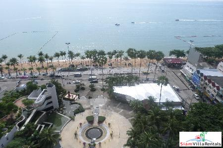 Spacious 3 Bedrooms Direct Seaview in the Jomtien's best location
