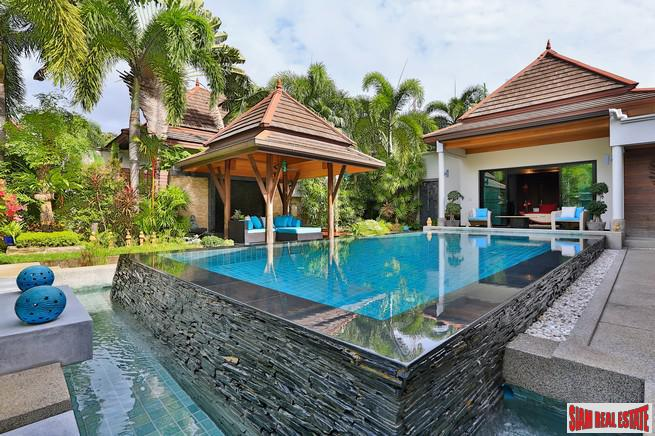 Private Pool Villa within Walking Distances to Surin and Bang Tao Beaches, Phuket