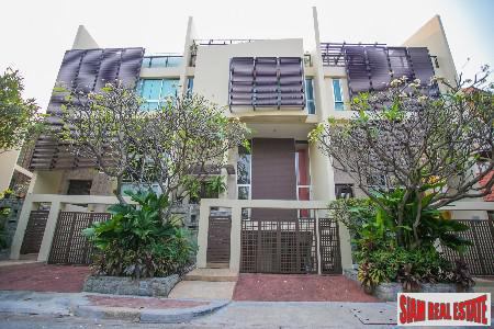 Unique Townhouse Minutes from the Central Business District in Sathorn, Bangkok