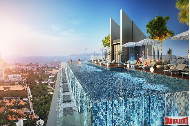 Brand New Luxury in THe Heart of Pattaya City with Great Seaview