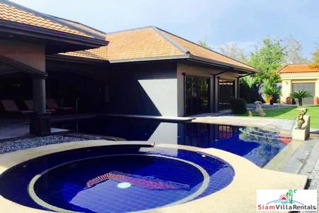 Luxury Villa with Private Pool in Secure Village Near Jomtien Beach in