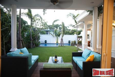 New Luxury Single Home with Three Large Bedrooms in Phra Khanong, Bangkok