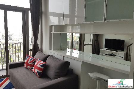 One Bedroom Loft-Style Duplex for Rent in Phra Khanong, Bangkok