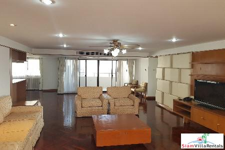Large and Comfortable Three Bedroom for Rent in Khlong Toei, Bangkok