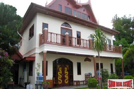 Unique Traditional Thai Style Home in an Exclusive Estate on Tri Trang Headlands, Patong