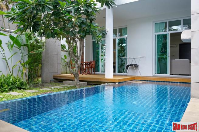 Contemporary Three Bedroom House with a Swimming Pool for Sale at Nai Harn