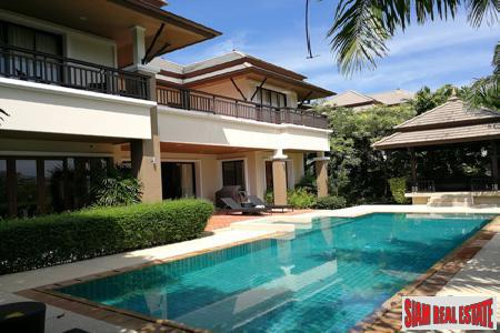 Lake Front Four Bedroom Pool Villa in Laguna, Phuket