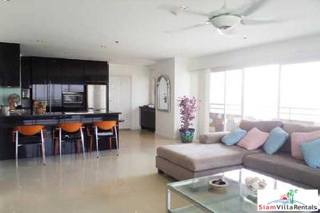 Beautiful 114SQ.M. 2 Bedroom Condo in Central Pattaya for Long Term Rent
