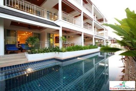 Pool Views from this Two Bedroom Condo for Rent in Cape Panwa, Phuket