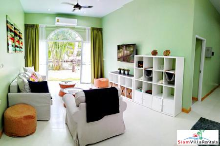 Bright Waterfront Two Bedroom for Rent in Boat Lagoon, Phuket