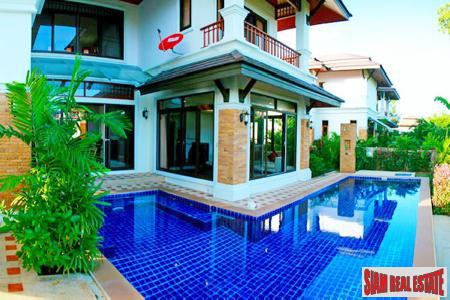 Beautiful Four Bedroom with Private Swimming Pool in Boat Lagoon, Phuket