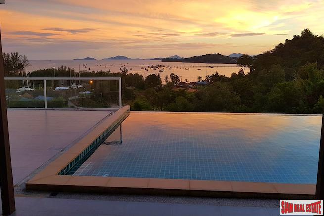New Panoramic Sea View 3+1 Bedroom Pool Villa in Ao Po, Phuket