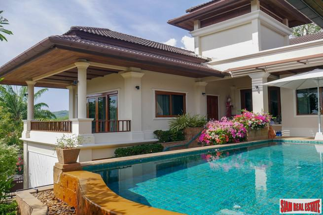 Detached Four-Bedroom House with Private Pool for Rent in Layan