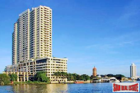 Baan Chaopraya Condominium | Large 2 Bed Double Unit Condo For Sale