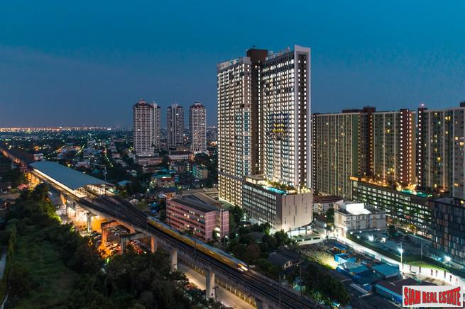 Newly Completed Condo next to MRT, Airport Link and Hua Mak, Suan Luang