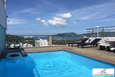 Sea Views from this Clean and Comfortable Two Bedroom in Patong, Phuket