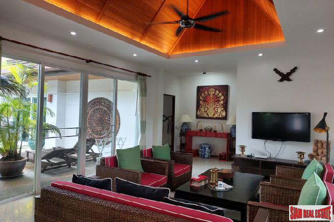 Three Bedroom Pool Villa For 4