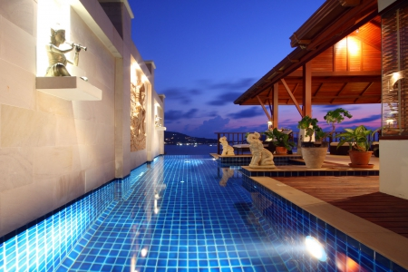 Luxury Pool Villa with Unbelievable Panoramic Sea Views, Patong, Phuket