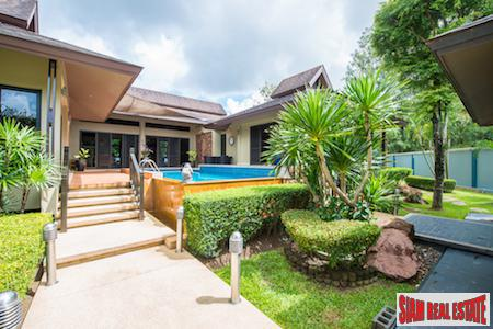 Tropical Private Home with Salt Water Pool in Chalong, Phuket