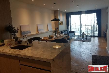 Beautifully Decorated Two Bedroom with City Views in Phra Khanong, Bangkok